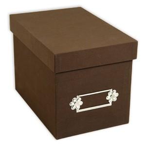 Sizzix Aufbewahrungsbox B R A U N groß 655392