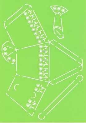 Joy!Crafts Prägeschablone Plastik Gießkanne 6002/0705 ( hellgrün