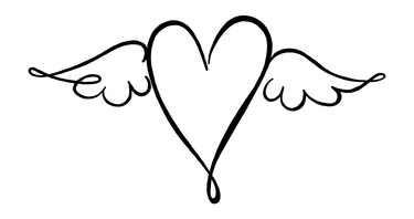 Stempel Herz mit Flügel / Beflügelt 28-781-000/1827804