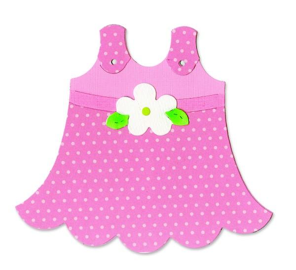 Sizzix Stanzform BIGZ Kleid / dress 655915