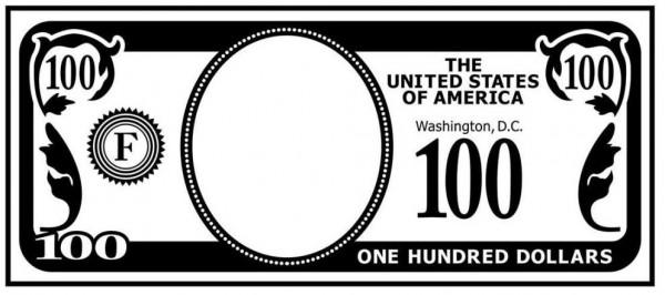 Darice Prägefolder 100 Dollar Schein/Money Opening 1219-123