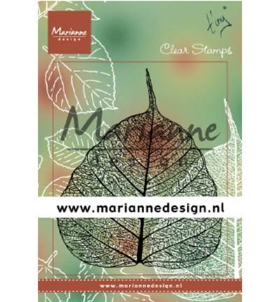 Marianne D Clear Stempel Tiny`s Blatt / Tiny's Leaf TC0877