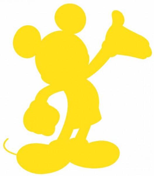 Cuttlebug Stanzform GROSS Mickey Mouse Ta Da ! 37-1751