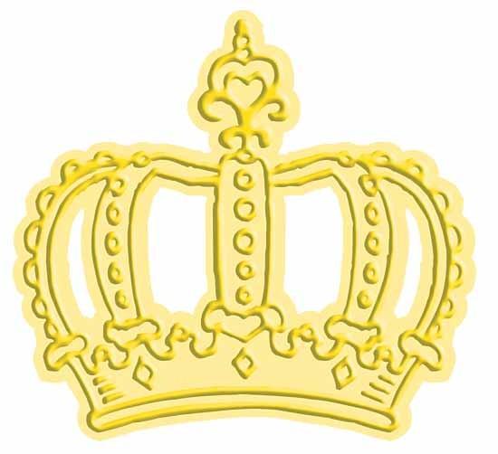 Cuttlebug Stanzform u. Prägefolder MEDIUM Krone Stanz-u. Prägeform 37-1722