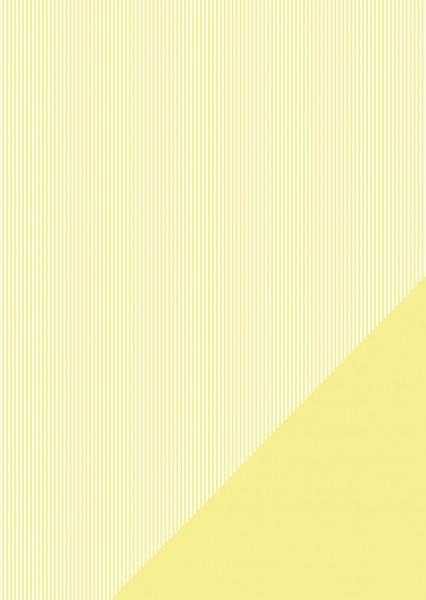 Bastelkarton Streifen A 4 ZITRONE 80-588-160