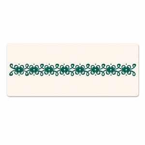 Sizzix Letterpress Platte Border Vintage Lace 657316