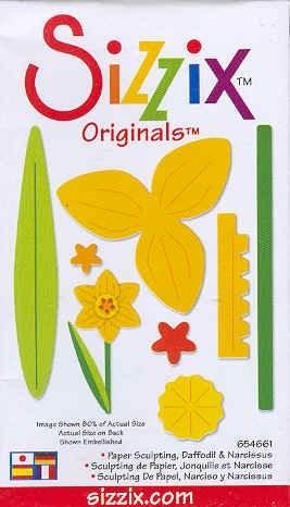 Sizzix Stanzform Originals MEDIUM Narzisse / daffodil & narcissus 38-1113 / 654661