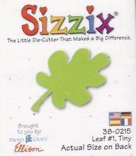 Sizzix Stanzform Original SMALL Blatt # 1 klein / leaf # 1 tiny 38-0215