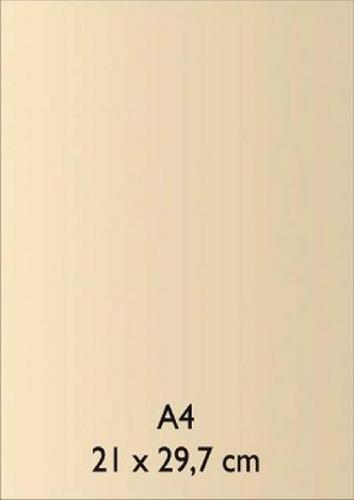 Pearl Papier A 4 ELFENBEIN mit Klebefolie 18811090