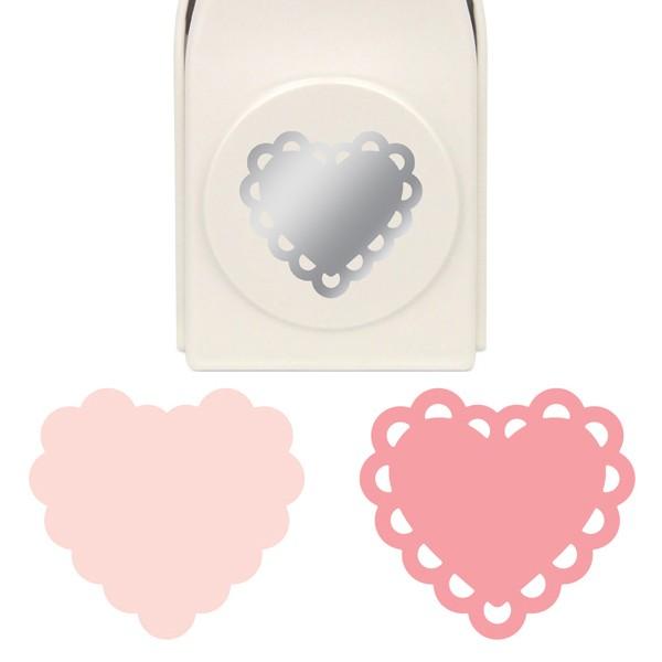 Martha Stewart Motivstanzer Layering Deco Heart 42-36002