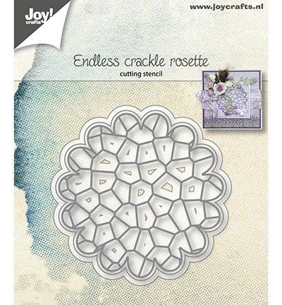 Joycrafts Stanzform Endless Crackle Rosette 6002/1154