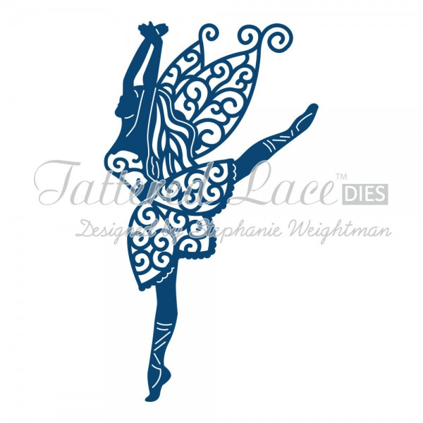 Tattered Lace Stanzform tanzende Fee / Graceful Fairy D607