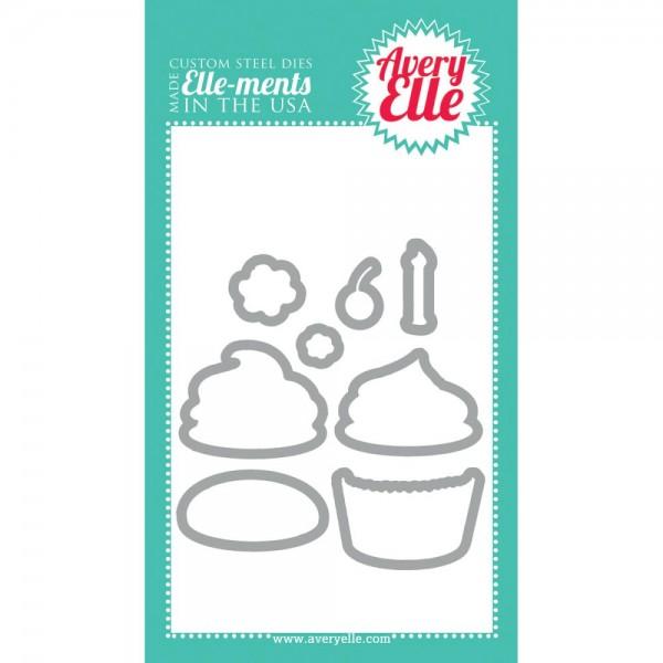 ELLE-ments Stanzform Cupcakes D1314
