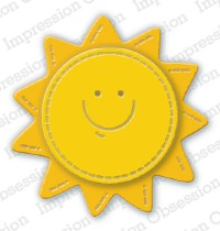 Impression Obsession Stanzform Sonne mit Gesicht / Sunny Face DIE835-J