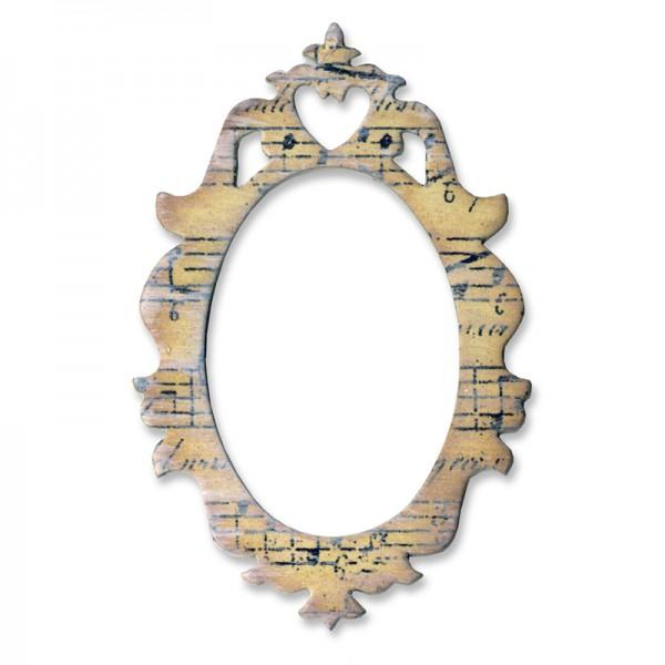 Sizzix Stanzform Originals MEDIUM Frame Ornate # 2 658222