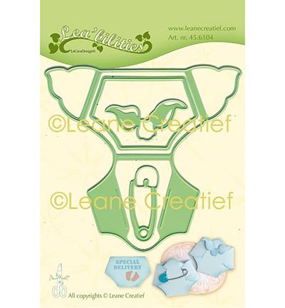 Leane Creatief Stanz-u. Prägeform Babywindel 45.6104