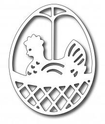 Frantic Stampers Stanzform Huhn im Ei / Chicken in an Egg FRA-DIE-09387