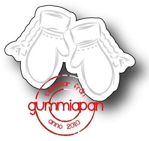Gummiapan Stanzform Handschuheklein /Sma Vantar D171032
