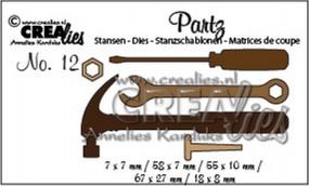 Crealies Partz Nr. 12 Werkzeuge CLPartz12