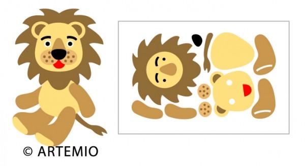 Artemio Happycut Stanzformen 6,8 x 11 cm Löwe / lion 18023008