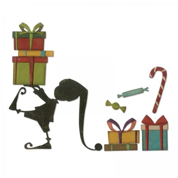 Sizzix Stanzform Thinlits Santa' s Helper 664192