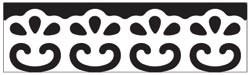 Martha Stewart Border - Stanzer Scroll Lace 42-40065
