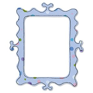 Sizzix Stanzform Originals LARGE Rahmen gewellt / frame curly 655432