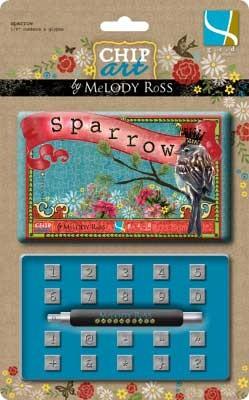 Präge-Zahlen Sparrow 503