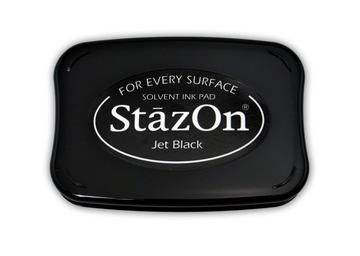 StazOn Stempelkissen Schwarz / Jet Black