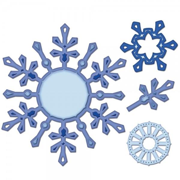 Schneeflocken-Anhänger 2010 / snowflake pendant S4-286