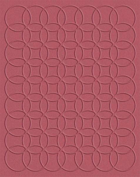 Quickutz Prägefolder groß geometrische Kreise/geometric circles EF-A2-065