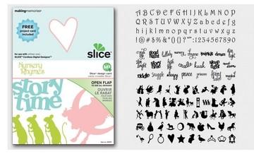 SLICE Design Karte Nursery Rhymes ( MS + ) 33747