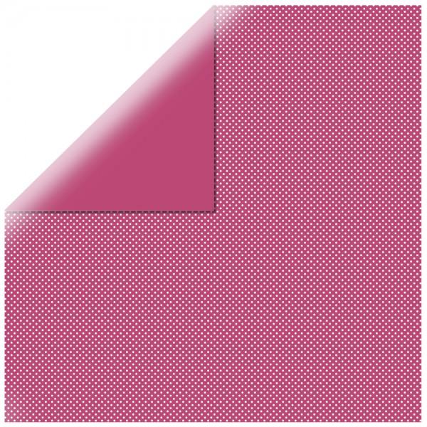 Rayher Scrapbooking Papier gepunktet RED Magma 60-570-285