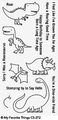 My Favorite Things Clear Stempel Dinosaurier / Delightful Dinosaurs CS-272