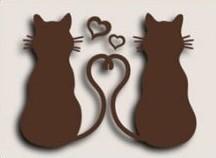Joycrafts Stanzform 2 verliebte Katzen / Love Kittens 6003/0049