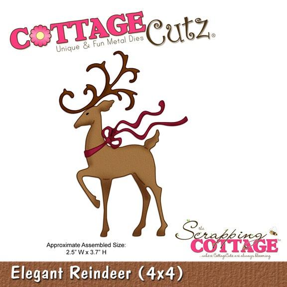 Hirsch elegant / elegant reindeer SC CC4x4-284