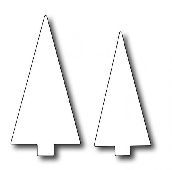 Frantic Stamper Stanzform Baum / Snow Globe Triangle Trees FRA-DIE-09672
