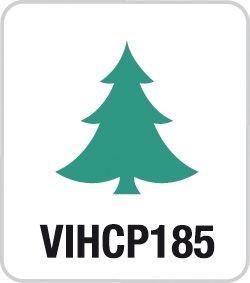 Motivstanzer klein Tannenbaum VIHCP185 ( grün )