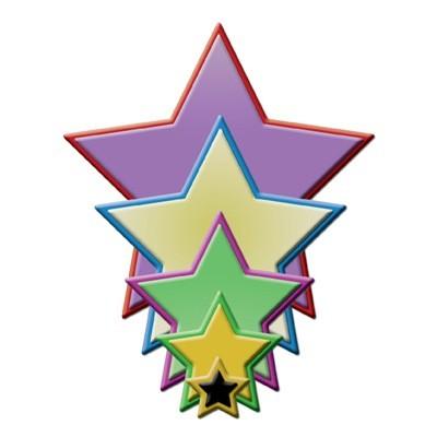 Spellbinders Stanzform geometrische Sterne / geometric stars S4-092 / 4290152