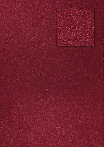 Glitterkarton WEINROT A 4 653002/0390