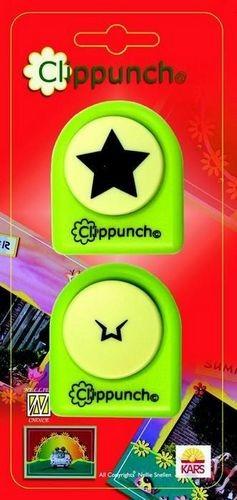 Clippunch groß Stern 115635/9742 ( grün )