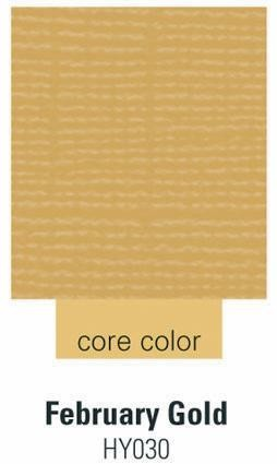 Cardstock february gold 30,5 cm X 30,5 cm 390 -HY030