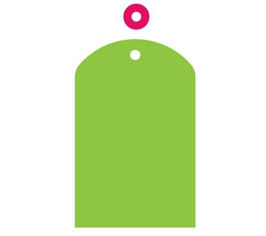 AccuCut Zip'e Slim Stanzform MEDIUM Anhänger # 1 klein / Gift Tag # 1 small 41486 / 41318