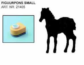 Vaessen Motivstanzer klein Pferd stehend 21405/494 ( gelb )