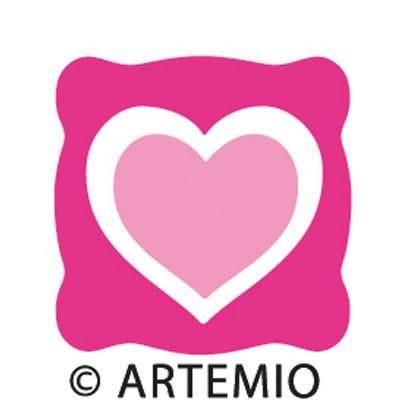 Artemio Happycut Stanzform 5,2 x 5,2 cm Herz / love # 1 18020001