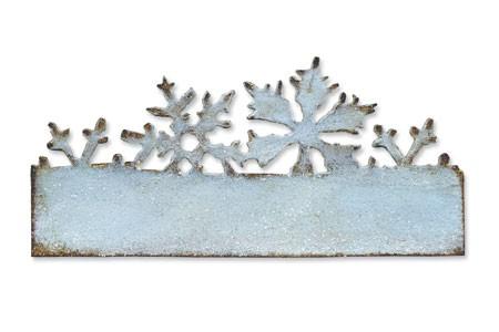 Sizzix Stanzform Edge Schneeflocken / Snow Fluries 656920