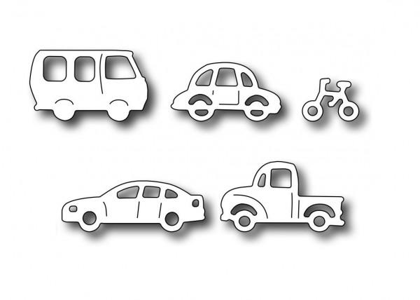 Frantic Stamper Stanzform Fahrzeuge / Village Wheels FRA-DIE-09539