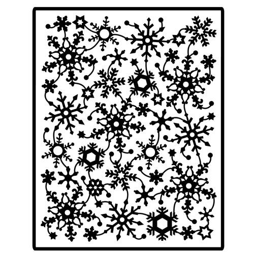 Spellbinders Impressabilities Schneeflocken / snowflakes I2-1003