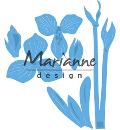 Marianne D Stanz-u. Prägeform Blume Amaryllis LR0539
