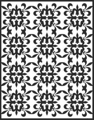 Spellbinders Impressabilities Lilie/fleur de Lis pattern I2-1014